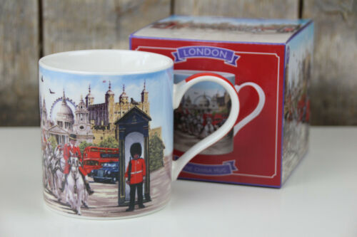 England London 300 ml The Leonardo Collection Kaffee Becher // Tasse