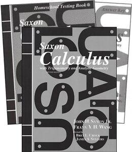 Saxon-Math-Calculus-Homeschool-Set-2nd-Edition-NEW