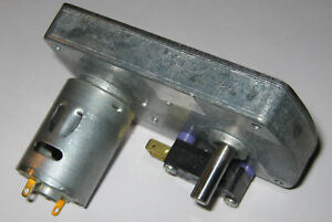 10-RPM-Heavy-Duty-Gearhead-Motor-12V-Mabuchi-w-Switch-RS-385SH-with-Gear