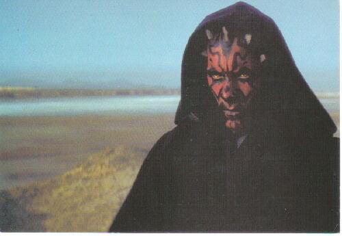 Star Wars Darth Maul 4 x 6 Photo Postcard #1 NEW
