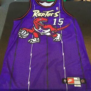 9459f530ac6 1998-99 Vince Carter Rookie Game Used Toronto Raptors Jersey With ...