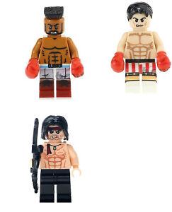 Rambo For Lego Action Figure