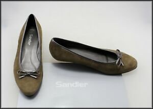 SANDLER-WOMEN-039-S-FLATS-LOW-HEELS-SUEDE-FASHION-SHOES-SIZE-7-B