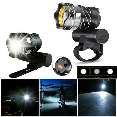 15000LM XM-L T6 LED MTB Bicycle Light Bike Front Headlight USB Rechargeable CHL