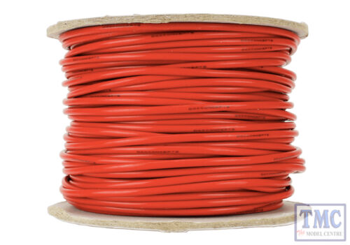 13g Red Power Bus Wire DCW-RD50-2.5 DCC Concepts 50m of 2.5mm