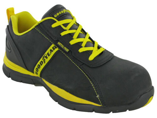 Goodyear Safety Trainers S3 Composite Toe Lightweight Metal Free Lace Mens 3054