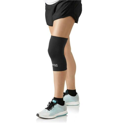 """Copper Fit Original Recovery Knee Sleeve Black with Copper Trim X-Large 19/""""-21/"""""""