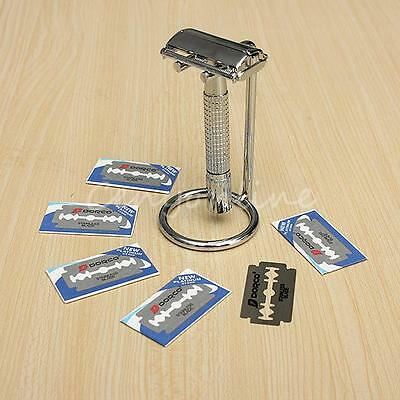 Micro Touch One Razor Classic Safety Double Edge with 12X Extra Blades Holder