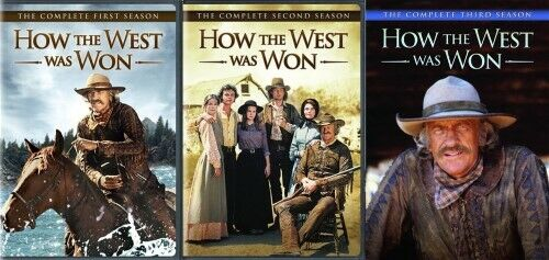 How The West Was Won Complete Tv Series Pilot Seasons 1 2 3 Box Dvd Set S For Sale Online Ebay