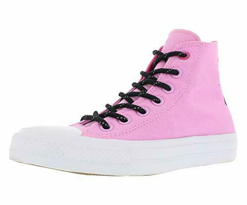 Converse Womens 154012C CT AS II HI Hight Top Lace Up Fashion, Pink, Size 5.0