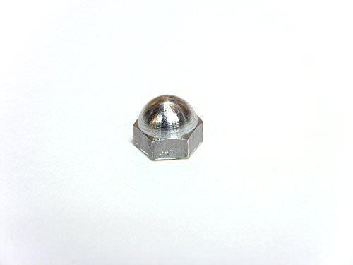 50pcs Aluminum Fastener Hex Acorn Nut 1//4 x 20UAAC