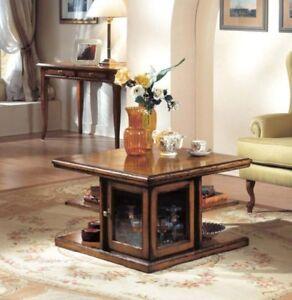 Bar Da Salotto.Dettagli Su Tavolino Bar Quadrato Apribile Da Salotto Piano Intarsiato Finitura Noce 821 822