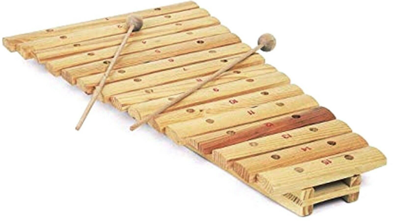 Toy Xylophone Wooden 15 Note Musical Instruments For Kids