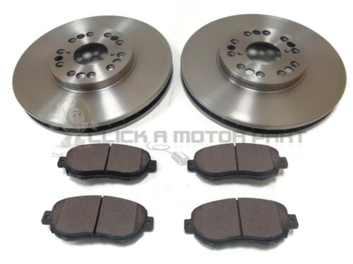 FRONT 2 VENTED BRAKE DISCS AND PADS FOR LEXUS GS430 2000-2005 GS300 1997-2004