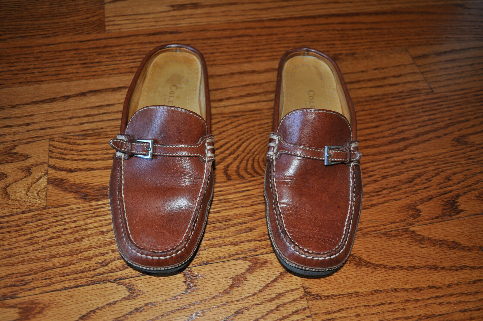NWOT   Damenschuhe COLE HAAN Braun Leder Schuhes Größe 5.5 M MADE IN BRAZIL