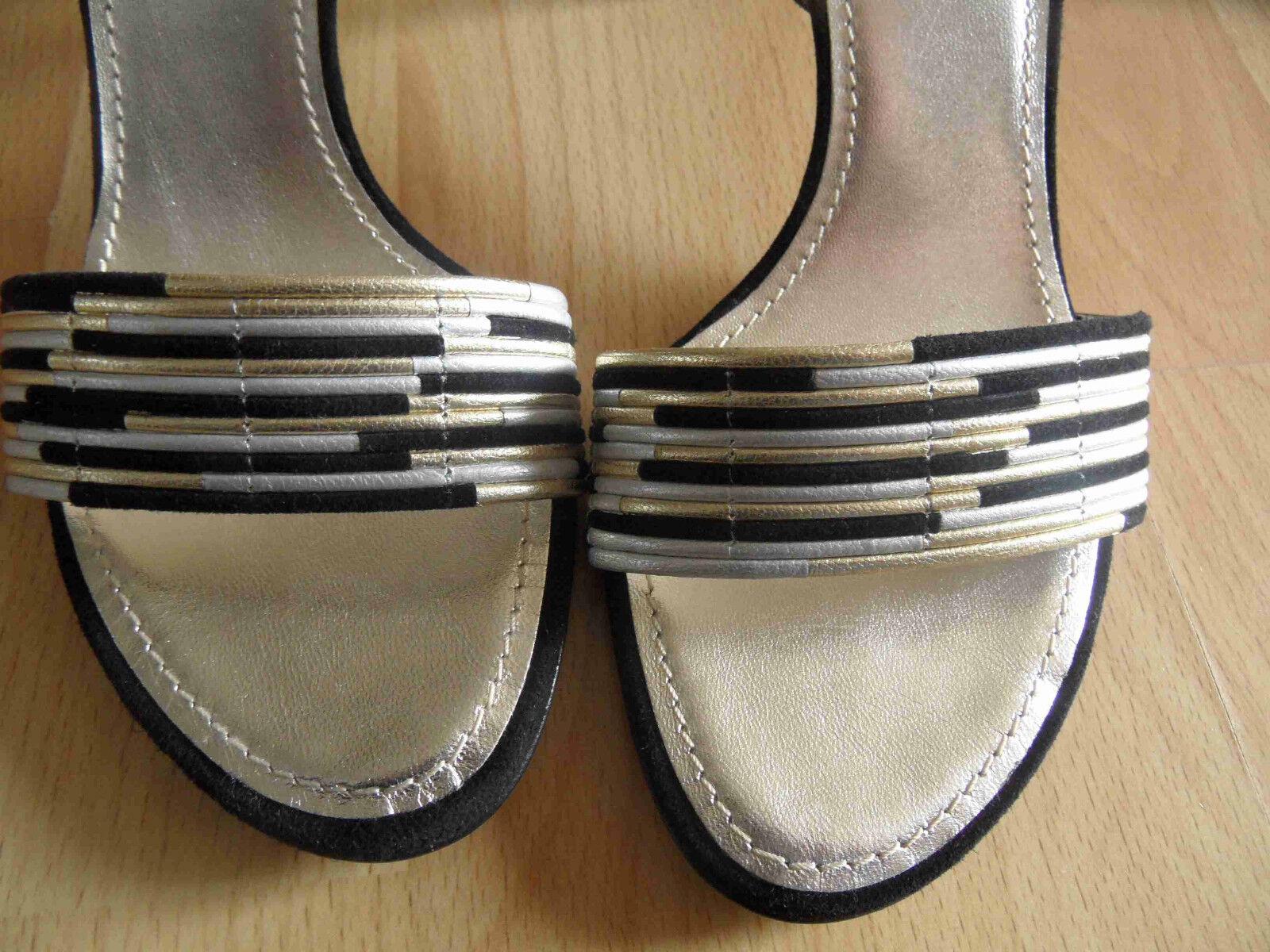 DOLCE&GABBANA stylische NP hohe Sandaletten Gr. 36 NP stylische 330,-- NEU OA1 a3a708