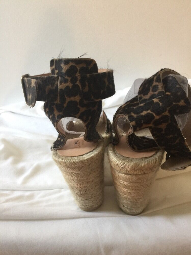 J CREW COLLECTION CORSICA ESPADRILLIES IN CALIF HAIR WEDGE ESPADRILLIES CORSICA SZ.10  198 NEW #B6844 0a50c0