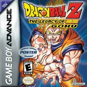 Dragon-Ball-Z-The-Legacy-Of-Goku-GBA-Great-Condition-Fast-Shipping