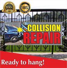 Collision Repair Banner Vinyl Mesh Banner Sign Flag Body Shop Auto Service Car