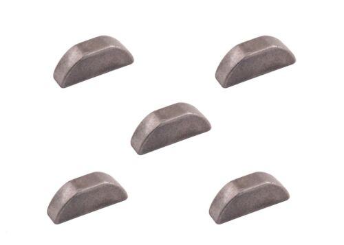 für Messerwelle passend Sabre RG1028 Rasentraktor 5er Set Passfeder
