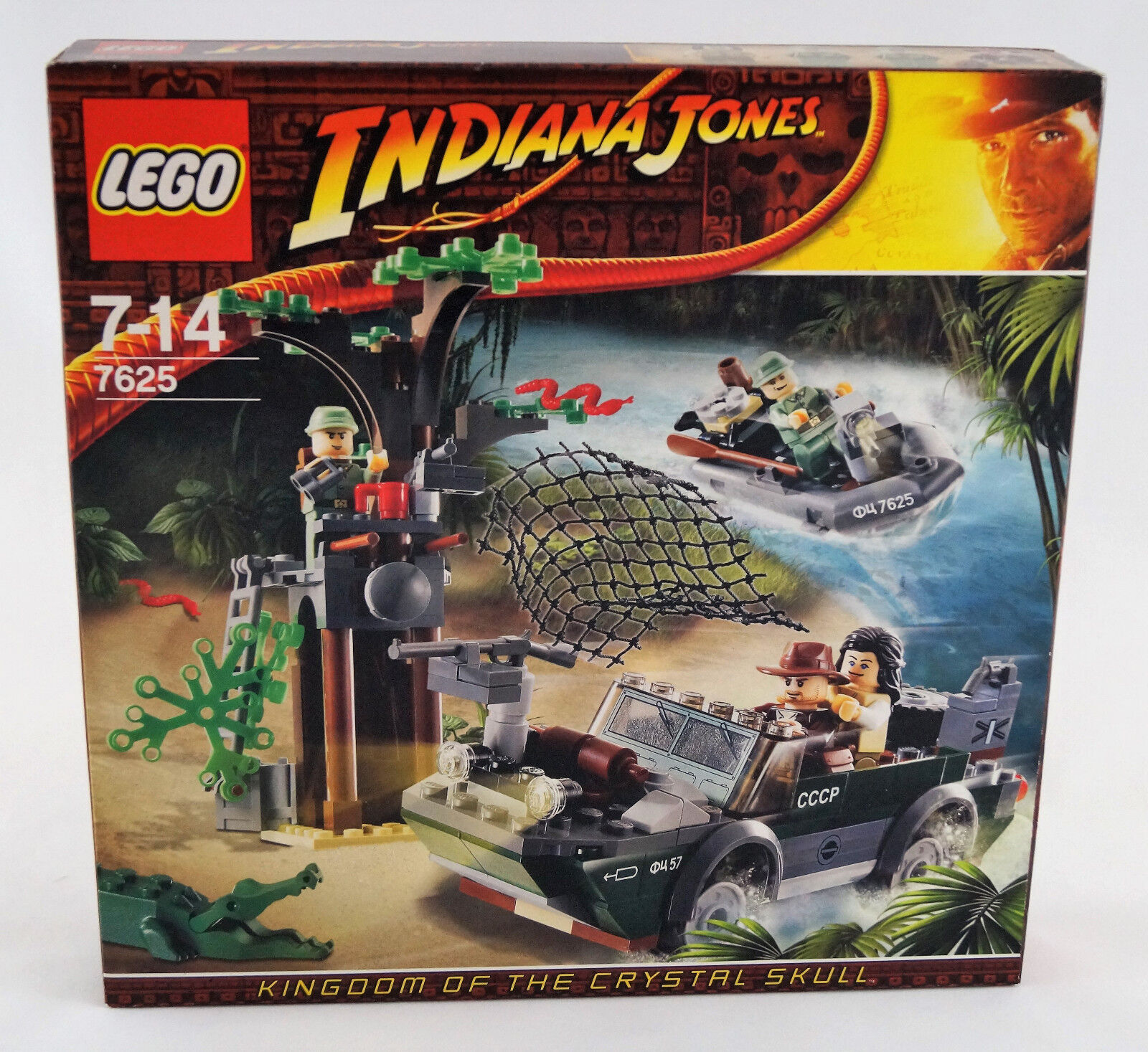 Lego® Lego® Lego® Indiana Jones 7625 Verfolgungsjagd am Fluss Neuware   New   Sealed 056455