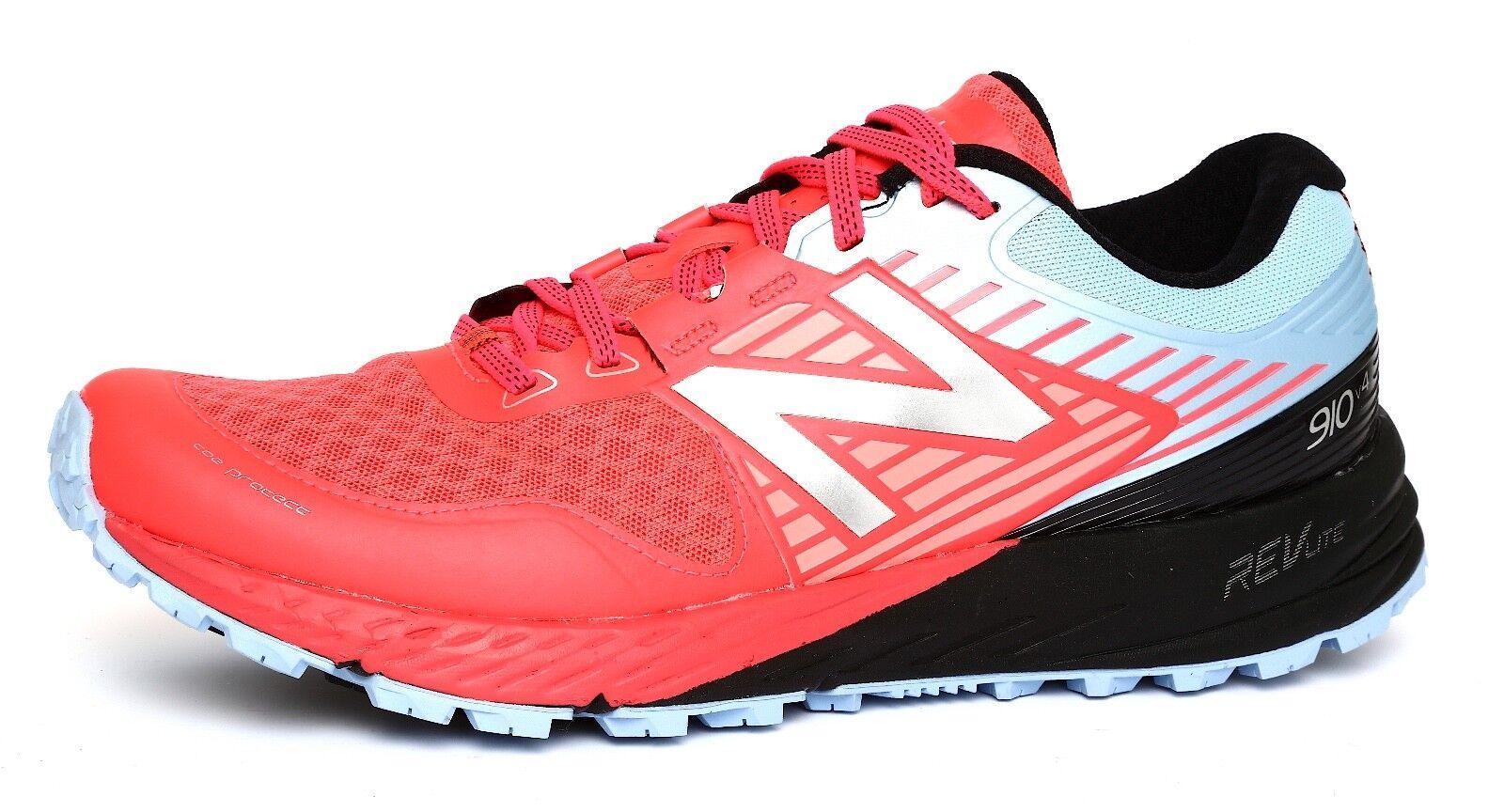 New Balance 910v4 Trail Femme Vivid Coral Running Chaussures Sz 11B 4655