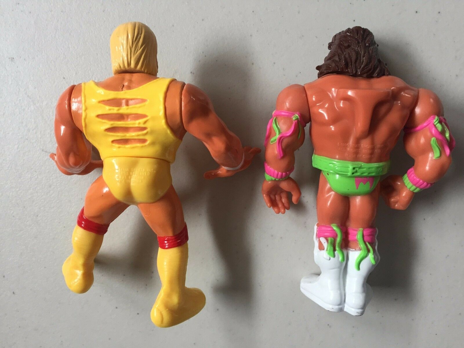 WWF HASBRO HASBRO HASBRO HULK HOGAN & ULTIMATE WARRIOR Loose Used WWE Wrestling Figures dd4f6c