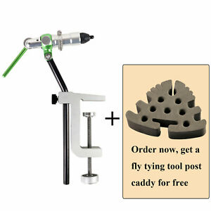 Maxcatch Rotary Fly Tying Vise Travel Alloy Fishing Tool Fly Fishing Tackle Kit