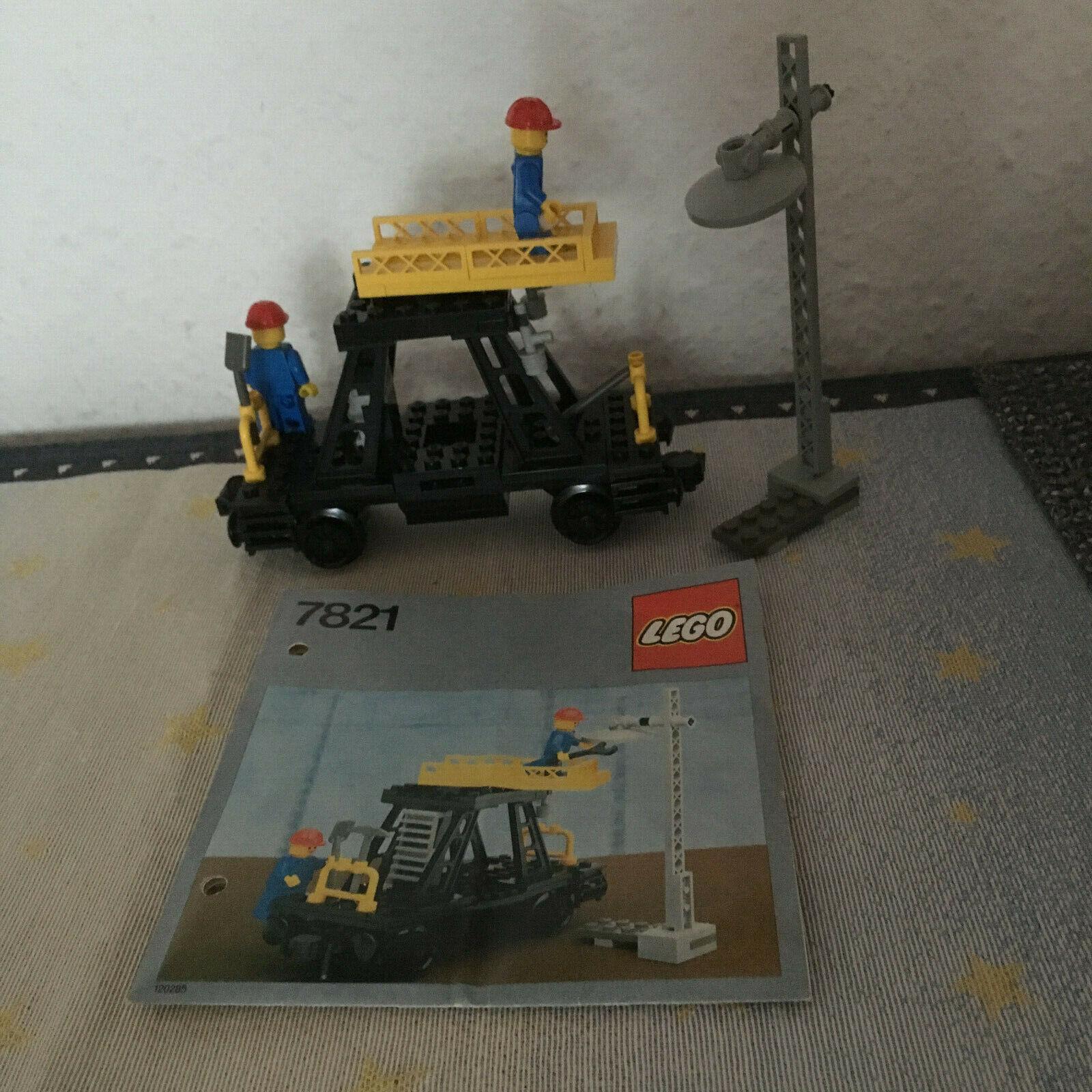LEGO Ferrovia 12 Volt, riparazione auto (7821) con Ba e OVP