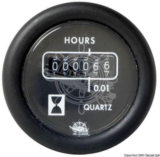 GUARDIAN Betriebsstundenzähler weiß 24 V