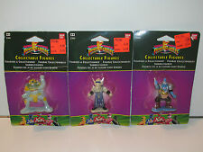 MMPR POWER RANGERS COLLECTABLE FIGURES SERIES 1 LOT OF 3 EVIL SPACE ALIENS MOSC