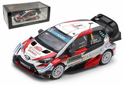 Spark S5978 Toyota Yaris WRC 3rd Monte Carlo Rally 2019-Ott Tanak 1//43 Escala