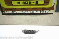 K40Y-9 0.01uF 200V PAPER IN OIL CAPACITOR PIO FOR FENDER JAGUAR