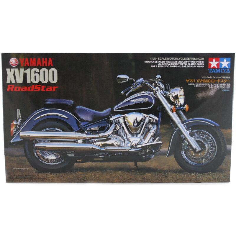 Tamiya Yamaha XV1600 RoadStar (Scale 1 12) Bike Model Kit 14080 NEW