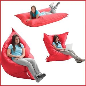 Image Is Loading Lounger Bean Bag 5 039 Oversize Large Sofa