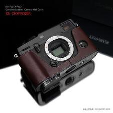 GARIZ HALF CASE- Custodia In Pelle Marrone Per Fujifilm X-PRO2