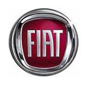 FREGIO LOGO STEMMA POSTERIORE ROSSO 95mm ORIGINALE FIAT 500 IDEA CROMA dal 2007