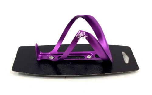 Supacaz Cycling  Ano Fly Water Bottle Cage Purple