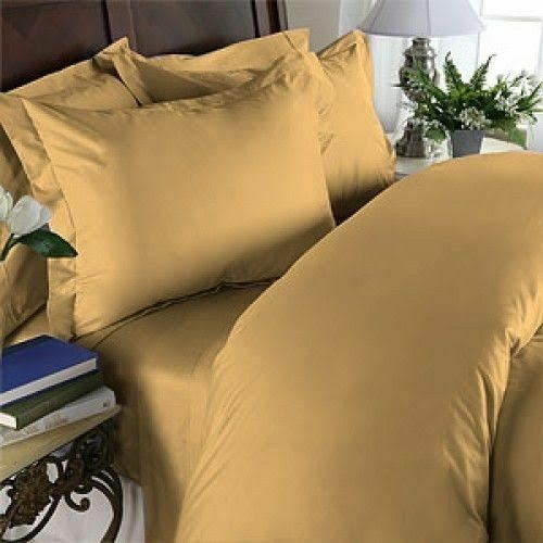 Egyptian Cotton 1000 TC Deep Pocket 4 PC Bed Sheet Set RV KING Size All Colors.
