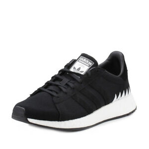 new style 95a8a 836aa Image is loading Adidas-Mens-Chop-Shop-NBHD-NEIGHBORHOOD-Black-DA8839