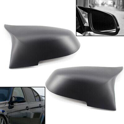 Matte Black Mirror Cover Caps Replacement Side Mirror Caps For for BMW BMW F20 F22 F23 F30 F31 F32 F33 F36 F87 M2 X1 E84