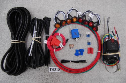 SXS//UTV POLARIS FULL SIZE RANGER//RANGER CREW TURN-SIGNAL /& LED LIGHT KIT TS315