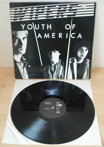 LP WIPERS Youth of America (Weird System 87 GERMANY) 2nd ps Park Ave lb punk VG+