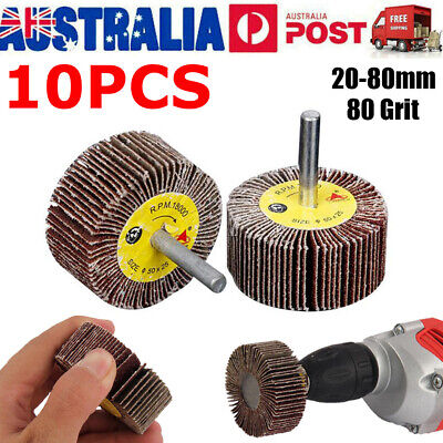 50mm Sanding And Grinding Flap Wheel Use With Drills 40 Grit