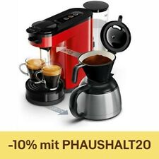 PHILIPS Senseo Switch HD6592/80 Pad und Filterkaffeemaschine 1450 Watt