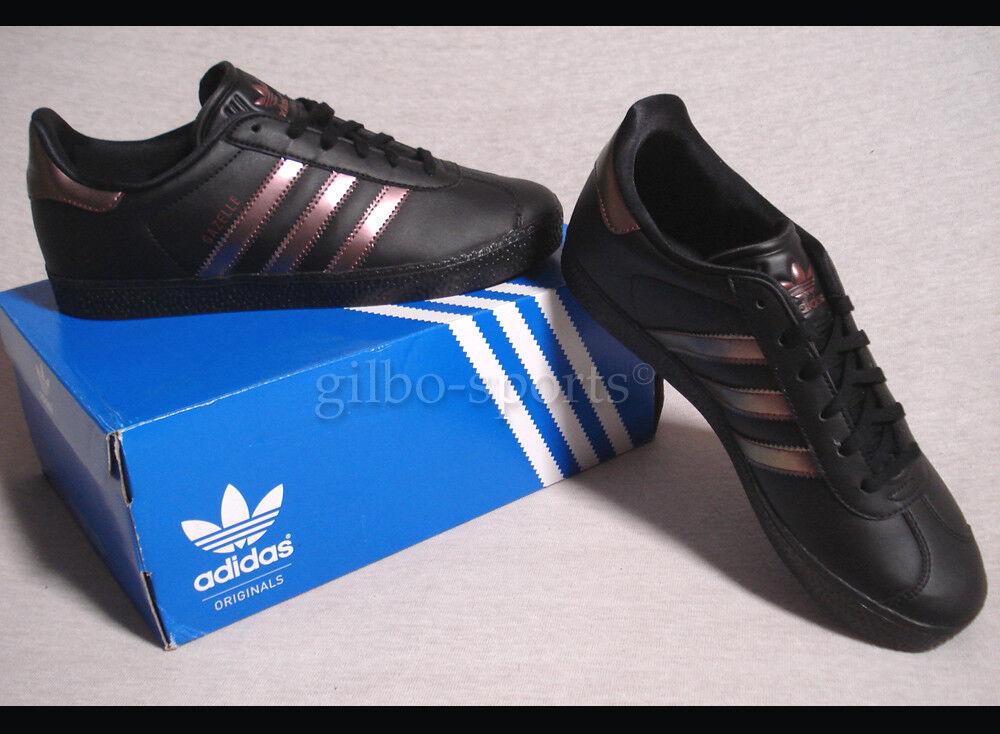 Adidas Adidas Adidas Gazelle J CBlack Bronze Größe 36 38 black DB1128 Samba be0645