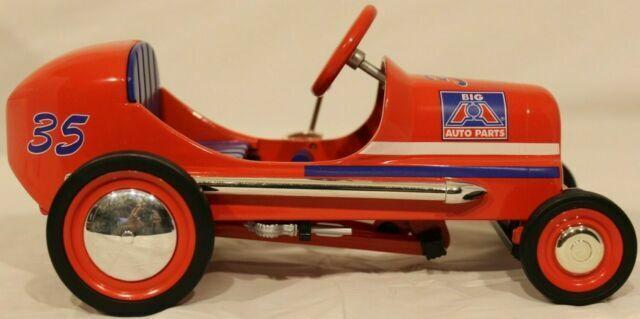 1997 Big A Auto Parts Die Cast Metal Pedal Car Bank 1 6 Scale Of 1947 Bmc For Sale Online Ebay