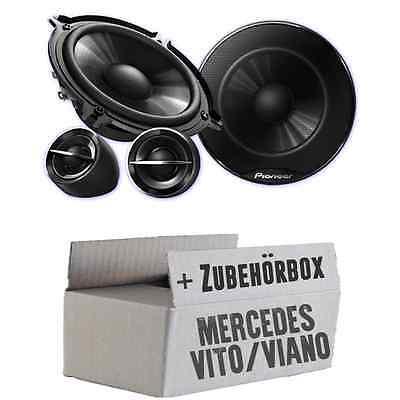 Mercedes Vito Viano W639 Front Heck- Pioneer LAUTSPRECHER BOXEN Tür vorne hinten