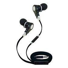 T90S Noise-Reducing Earbud Headphones with Mic (Black)