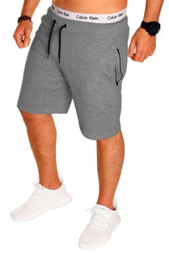 Uomo Pantaloncini Short Sport con lampo Capri Pantaloni corti bermuda estate nuovo